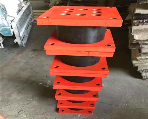 铅芯支座 叠层橡胶支座 高阻尼隔震橡胶支座安通厂家1